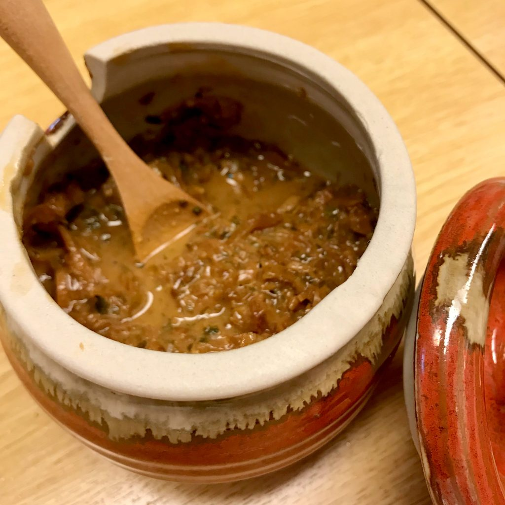 Sumo Bar Kei-chan's secret miso recipe.